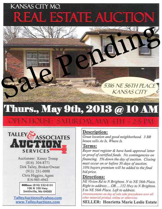 Talley and Associates - Auction Services